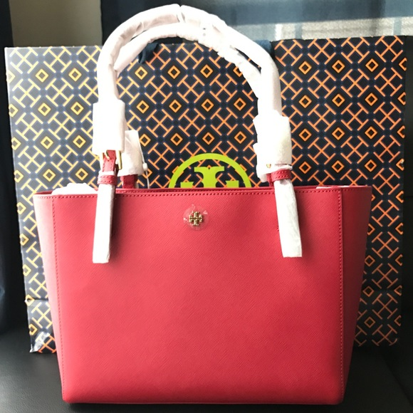 888a88d4582d NWT Tory Burch Emerson Small Buckle Tote